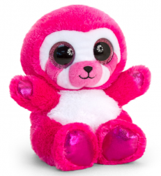 ANIMOTSU SLOTH PINK SML 15CM - OUT OF STOCK