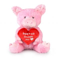 BACON MY HEART 26CM - 10% FREIGHT SURCHARGE APPLIES