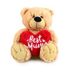 BUDDY BEAR BEST MUM 28CM