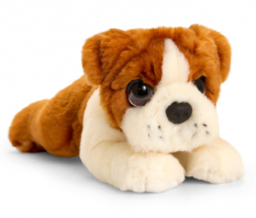 CUDDLE PUP BULLDOG MED 32CM - OUT OF STOCK