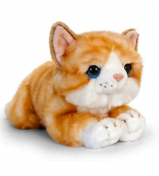CUDDLE KITTEN LGE GINGER 32CM - OUT OF STOCK