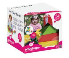 EDUSHAPE EDUCOLOR BLOCKS (30 PCS)