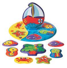 PLAYGRO FLOATY BOAT BATH PUZZLE