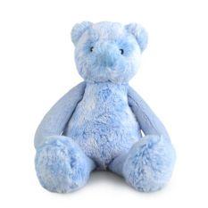 FRANKIE BEAR SML BLUE 28CM - 10% FREIGHT SURCHARGE APPLIES