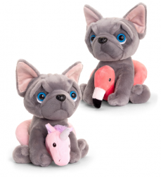 FRENCHIE SEASIDE 2 ASST 20CM - 10% FREIGHT SURCHARGE APPLIES