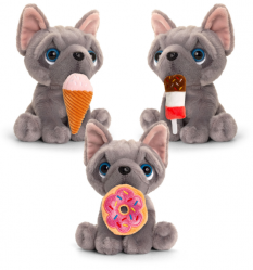 FRENCHIE TO GO 3 ASST 20CM - 10% FREIGHT SURCHARGE APPLIES