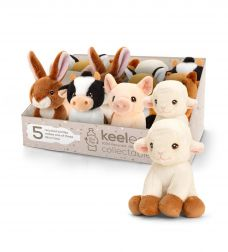 KEELECO FARM ANIMALS 6 ASST 12CM - OUT OF STOCK