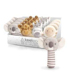 KEELECO STICK RATTLES 4 ASST 14CM