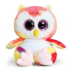 ANIMOTSU OWL RAINBOW SML 15CM