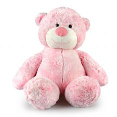 CUPCAKE BEAR LGE PINK 38CM - 10% FREIGHT SURCHARGE APPLIES