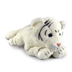 FRIENDLEE LYING WHITE TIGER XLGE 76CM