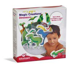 EDUSHAPE MAGIC CREATIONS DINOSUARS (13 PCE)