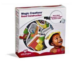 EDUSHAPE MAGIC CREATIONS ROAD CONSTRUCTION (27 PCE)