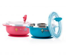 NUBY SUCTION BOWL RED