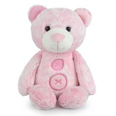 PATCHES BEAR PINK LGE 38CM
