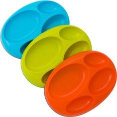 Boon PLATTER Blue/Orange/Green 3pk