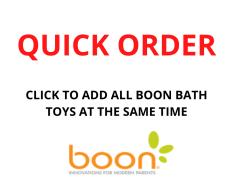 QUICK ORDER - BOON BATH TOYS ASST