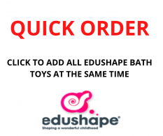 QUICK ORDER - EDUSHAPE BATH TOYS