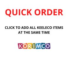QUICK ORDER - KORIMCO KEELECO ASST
