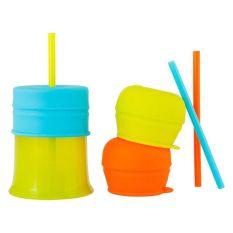 Boon SNUG Straw w/cup - Boy
