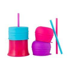 Boon SNUG Straw w/cup - Girl