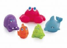 Playgro Under the Sea Squirtees 5pcs - OUT OF STOCK