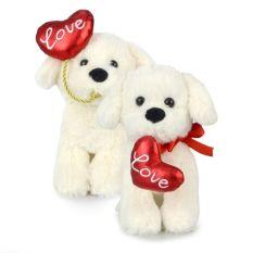 PUPPY LOVE 2 ASST 20CM