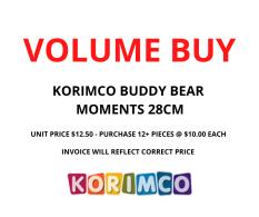 VOLUME BUY BUDDY MOMENTS 28CM