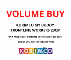 VOLUME BUY MY BUDDY FRONTLINE WORKER 23CM